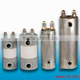 High anti-corrosion Heat exchanger for swimming pool with titanium shell titanium tube coil