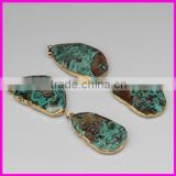 AAA Quality new natural drusy druzy stone,ocean agate druzy stone,HOT sale jewelry pendant