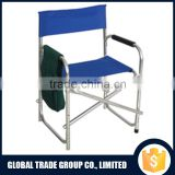 Outdoor Products PROFESSIONAL Tall Directors Folding Chair with SideTable With Bag On Arm 251707