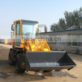 4 wheel drive small tractor with front end loader