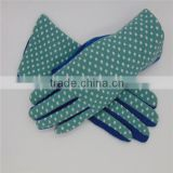 WENZHIHE Brand Cotton Dress Glove With Logo Printed