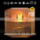 2014 New Multifunctional 2-in-1Sauna Room Hot Sauna Far Infrared Sauna Room & Traditional Sauna Room