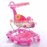 2016 Baby Product Baby Activity Walkers with suitable seat/pink baby walker/child walker