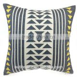 Geometric Pillow Triangle Decorative Pillow Case Modern Pillows Home Decor modern black cushion for home decor