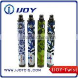 Good price ego twist bectronic cigarette manufacturer china,e cigarette vaporizer pen ijoy twist battery