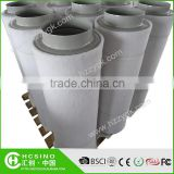Hydroponics activated carbon filter for swimming pool and grow tent