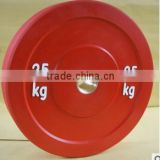 Hot Sale Olympic bumper plate for weight lifting