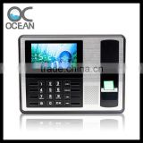 OC007 4.3 inch Free Software Face Recognition Time Attendance System