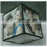 Cube acrylic picture frame