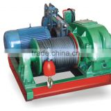 JK-8 fast electric winch for construction building , LIFTKING brand fast lifting equipment ,