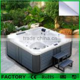 Factory good Quality foot and body spa massage bathtub hot tub Outdoor massage spa tub