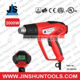 JS UL Approved Electric High Temp Heat Gun Paint Stripper Tool Hot Air Blower 2000W JS-HG12D