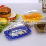 Colorful High quality Plastic Butter Dish