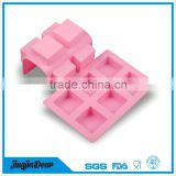 China manufacturer reusable silicone fondant cake mold