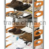 2014 Wholesale Good Quality Metal Shoe Racks For Store