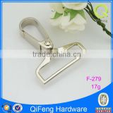small size making handbag fittings metal dog hooks,snap hook for bags,handbag snap dog hook