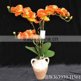 New artificial flower bonsai/artificial orchid bonsai/artificial potted orchid plant bonsai