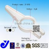JY-A018|Plastic pipe connector for storage shelf assembly|Coated tube joint|Hole pipe clamp