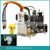 Reaction polyurethane injection molding machine