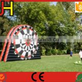 Sports Soccer Dart Game Giant Inflatable Garden Dart Board For Sale