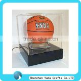 acrylic basketball display case,led basketball perimeter box