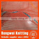 red cheap onion mesh bags / raschel mesh bags for sale