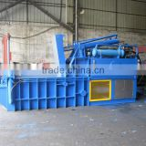 Hydraulic horizontal metal baling press machine for aluminium scrap