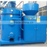 Low cost biomass wood/rice husk/straw pellet burner connect with steam boiler