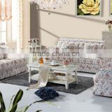 Morden Design Living Room Fabric Sofa Furniture ,Korea Simple Style Livingroom Sofa Set,Graceful home coffee table