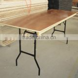 plywood banquet folding table /outdoor table/dinning table