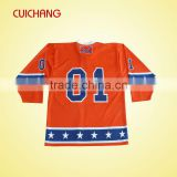 polyester ice hockey jerseys