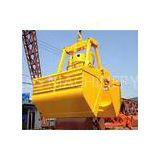 Deck Crane Bulk Cargo Electro Hydraulic Grabs / Grapple with Motor Hydraulic Drive