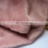 100% polyester made fake rabbit fur fabric