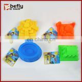 Four shape ECO plastic toy sand molds