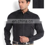 Beautiful indian Designer Men Black Slim Fit Formal Shirt