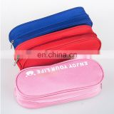 Customized Logo 600D Oxford Cloth Ball Pen Case Promo Gift
