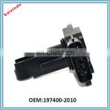 Hot sales Stock now Mass Air Flow Meter Sensor MAF For Mazda 3 5 6 MX-5 Miata RX-8 1974002010