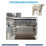 livestock goat slaughterhouse equipment Sheep/goat Dehair Machine butcher machinery of sheep slaughter house