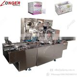 High Capacity Bopp Film Gift Soap Health Care Products Box Wrapping Machinery Candy Sugar Food Box Cellophane Packing Machine