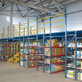 Metal Storage Rack Auto Cs Shop Two Floors