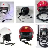 Upgraded version of the latest model New Chinese Aviation  Open Face Pilot Motorcycle Helmet Dual Visors
