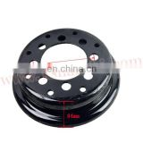 44409-20541-71 forklift spare parts tire wheel rim for 700*9/140-170 TLF