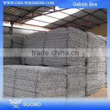Low Price Oman Gabion Mesh Box River Gabion Mattress Rock Basket Wire Mesh / Gabion Stone Cage For Bank