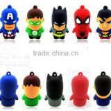3D PVC Cartoon USB The Avengers USB Flash drive,The Avengers USB Pendrive