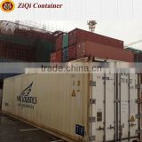China supplier	20'/40'HC HQ	2nd hand	reefer container	high standard	competitive price	for sale in Liaoning