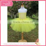 Voile Fabric bright yellow chiffons light fluffy voile girl's dress children frocks designs