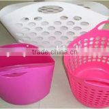 Zhejiang Huangyan OEM Factory laundry basket plastic injection mould/ Injection laundry basket plastic molds