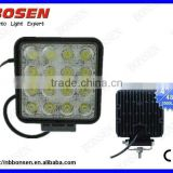 Hot selling high power 48W led work light truck work lights
