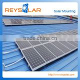 solar electric panel system bearing stool bracket photovoltaic stents metal tile roof solar mount system                                                                         Quality Choice