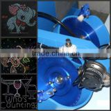 professional ultrasonic hotfix machine/rhinestone fixing machine/Ultrasonic Hot Fix Rhinestone Machine